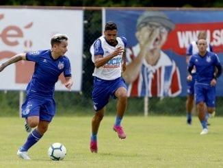 Bahia encerra preparação para enfrentar o Botafogo