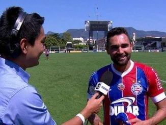 Gilberto comenta golaço e comemora triunfo contra o Vasco
