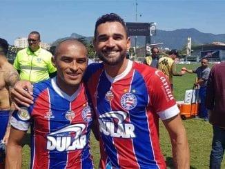 Nino Paraíba comemora triunfo contra o Vasco