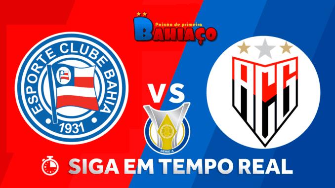 Onde Assistir Bahia X Atletico Go Pelo Campeonato Brasileiro Bahiaco